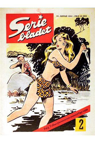 Seriebladet 1951 Nr. 2