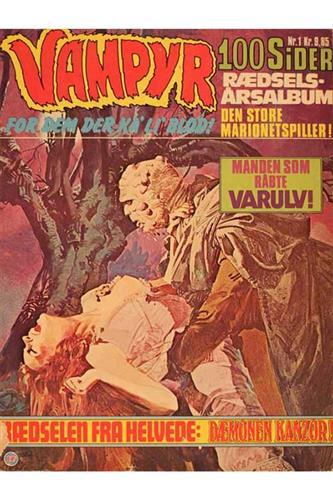 Vampyr - Rædselsalbum