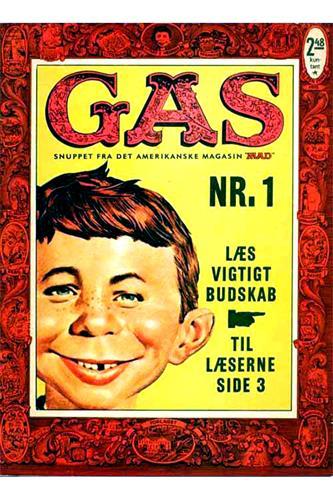 Gas (Dansk Mad) 1962 Nr. 1