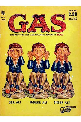 Gas (Dansk Mad) 1962 Nr. 2