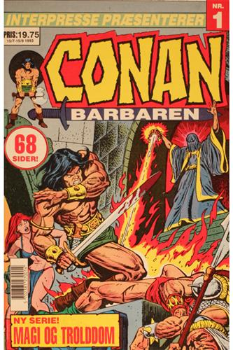 Conan Barbaren 1993 Nr. 1