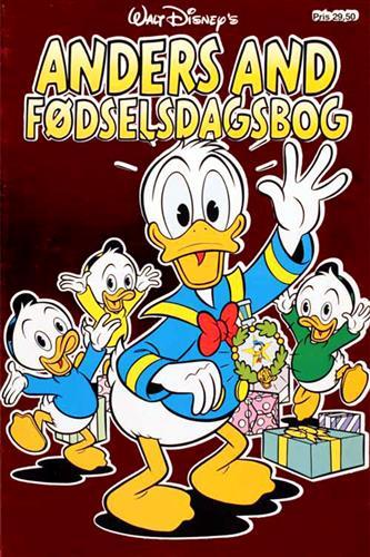 Anders And Fødselsdagsbog
