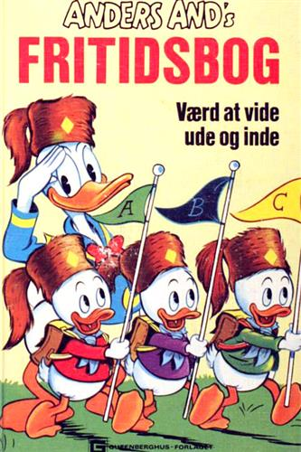 Anders Ands Fritidsbog 1972 Nr. 1