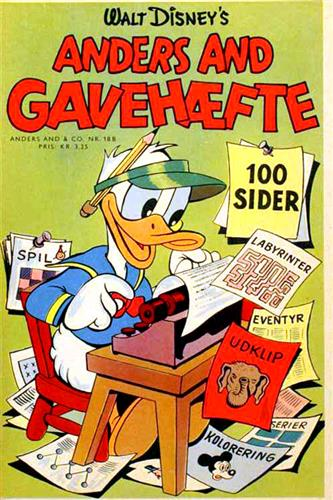 Anders And Gavehæfte (Kuglepen) 1959 Nr. 3