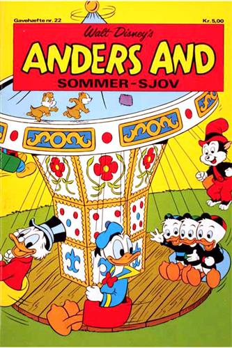 Anders And Gavehæfte (Blyant) 1972 Nr. 22