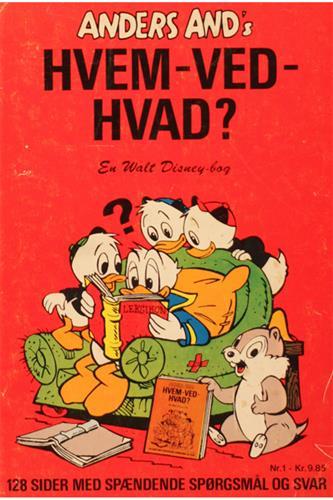 Anders Ands Hvem Ved Hvad 1973 Nr. 1
