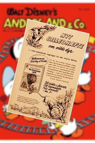 Anders And & Co. 1956 Nr. 21 Løst Indlæg B (uden blad)