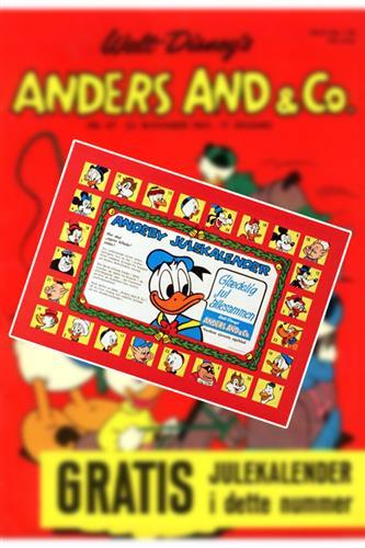 Anders And & Co. 1965 Nr. 47 Løst Indlæg (uden blad)