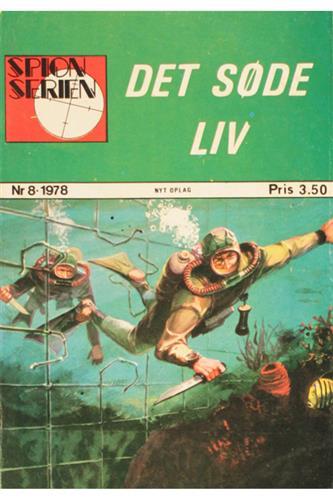 Spion Serien 1978 Nr. 8