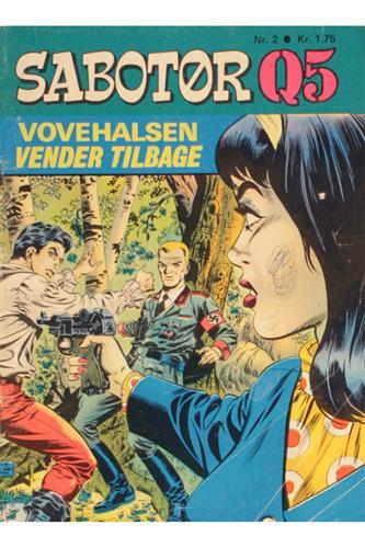 Sabotør Q5 1970 Nr. 2