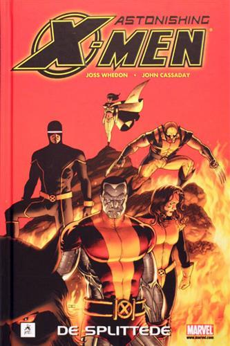 Astonishing X-Men - De Splittede 2008