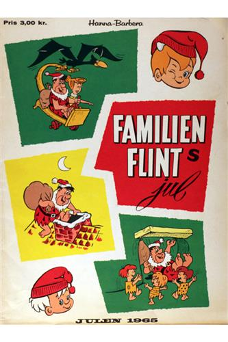 C.A.E.-Hæfter 1965 Nr. 63 - Familien Flint jul 1965