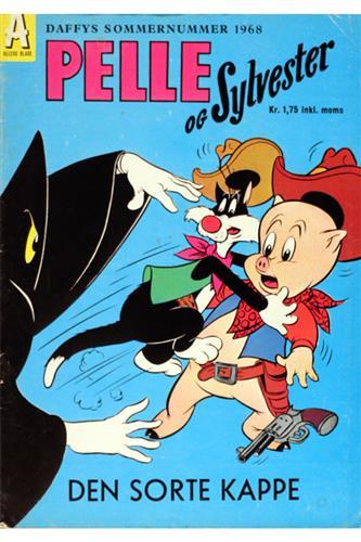 C.A.E.-Hæfter 1968 Nr. 69 - Pelle og Sylvester: Den sorte kappe