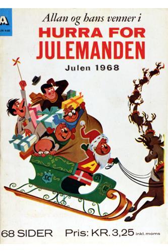 C.A.E.-Hæfter 1968 Nr. 70 - Allan og hans venner i hurra for julemanden