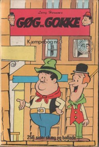 Gøg Og Gokke Kæmpebog 1972 Nr.3