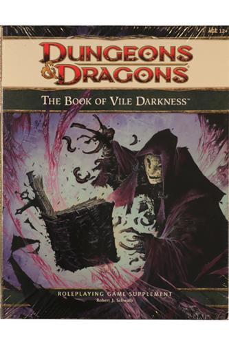 The Book of Vile Darkness (Sealed)