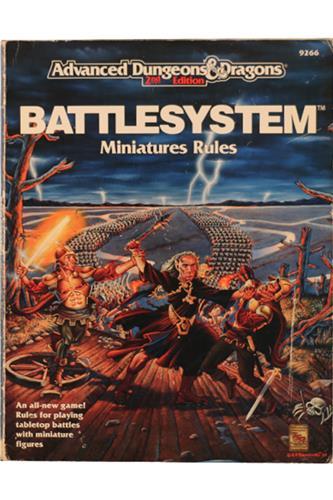 Battlesystem - Minatures Rules