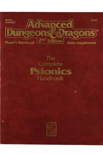 The Complete Psionics Handbook