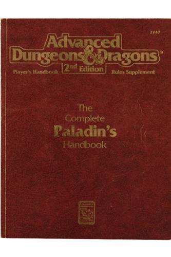 The Complete Paladin's Handbook