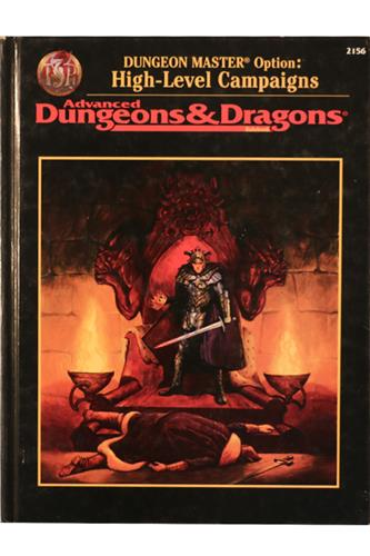 Dungeon Master's Option: High-Level Campaign