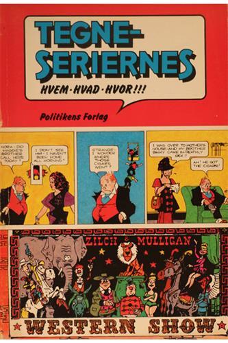 Tegneseriernes Hvem-Hvad-Hvor!!!