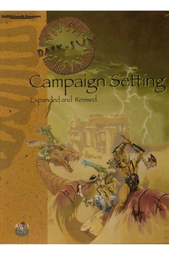 Campaign Setting (Expanded and Revised)