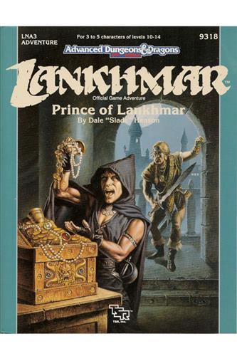 Lankhmar - Prince of Lankhmar