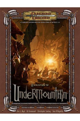 Expedition to Undermountain