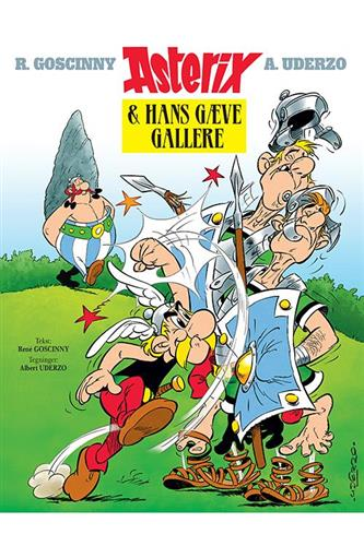 Asterix Luksusudgave Nr. 1 - 4. udg. 1. opl.