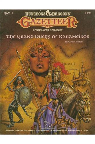 The Grand Duchy of Karameikos