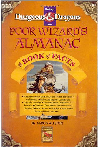 Poor Wizard's Almanac & Book of Facts