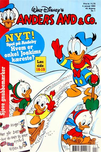 Anders And & CO. 1993 Nr. 1