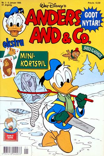 Anders And & CO. 1995 Nr. 1