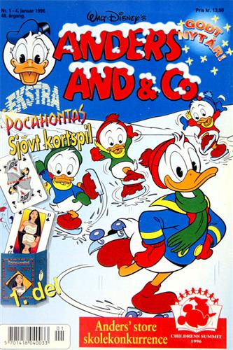 Anders And & CO. 1996 Nr. 1