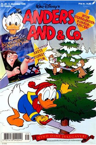 Anders And & CO. 1996 Nr. 49 Tillæg i pose, Walt Disney's Klokkeren fra Notre Da