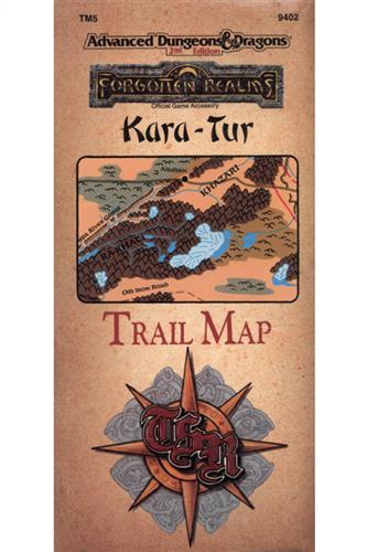 Kara-Tur: Trail Map