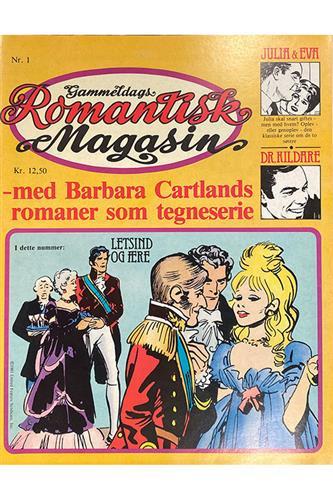 Gammeldags romantisk magasin 1981 Nr. 1