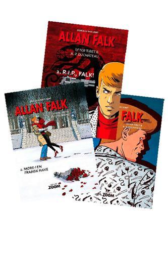 Allan Falk Nr. 1-4