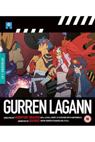 Gurren Lagann - Complete (Ep 1-27) Blu-Ray