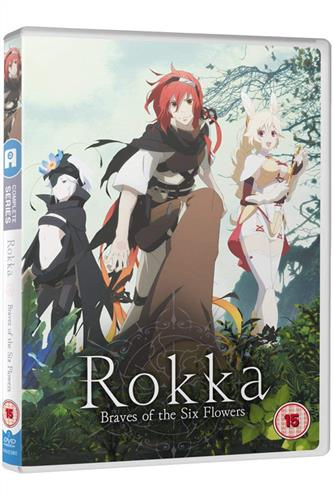 Rokka - Braves of the Six Flowers - Complete (Ep. 1-12) DVD