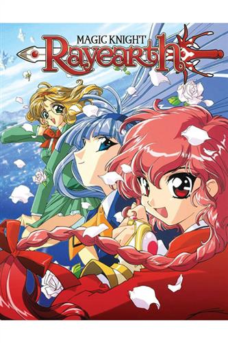 Magic Knight Rayearth - Part 1 (Ep. 1-27) Blu-Ray Collector's Edition