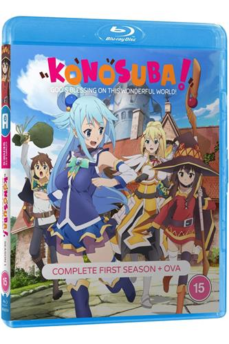 Konosuba - Season 1 (Ep. 1-20) Blu-Ray