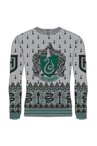 Julesweater - Harry Potter Slytherin Strik