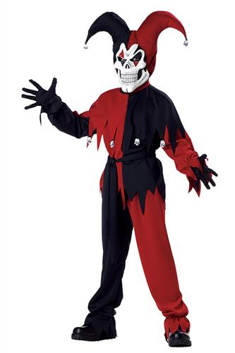Den onde Joker, sort/rød