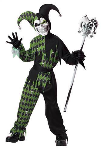 Den onde Joker, sort/grøn