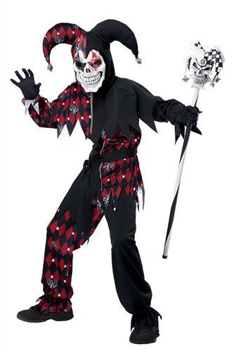 Hysterisk Joker, sort/rød