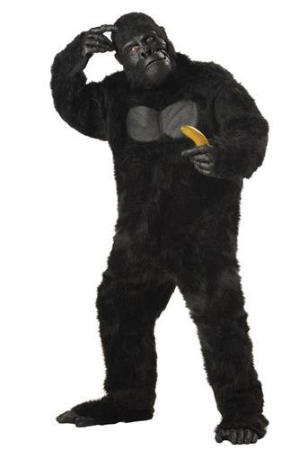 Gorilla dragt, Onesize - Plussize
