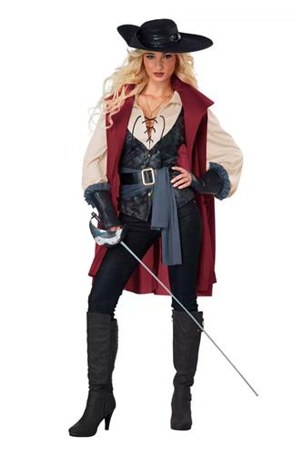 Kvindelig Musketeer