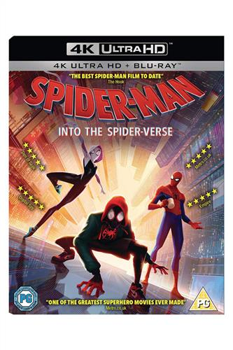 Spider-Man - Into The Spider-Verse 2018 - UK Udgave Med