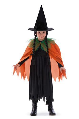 Hekse Kappe, orange